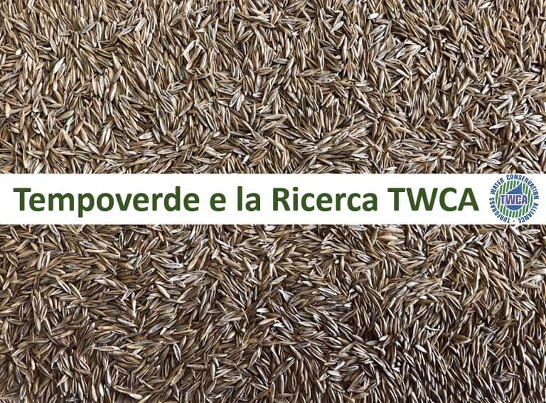 Tempoverde e la Ricerca TWCA