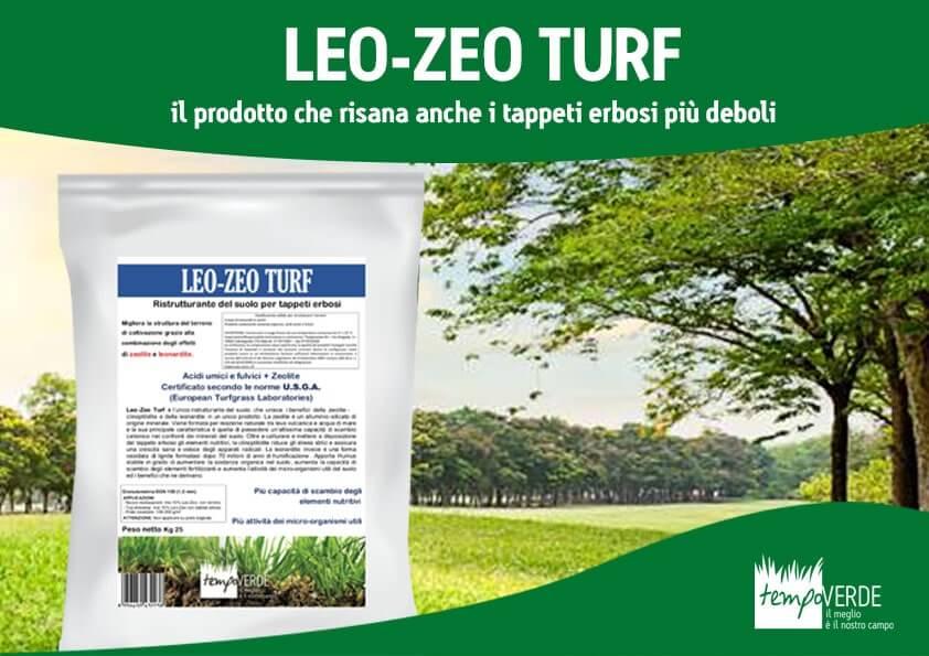 Leo-Zeo Turf, Il prodotto che risana anche i tappeti erbosi più deboli