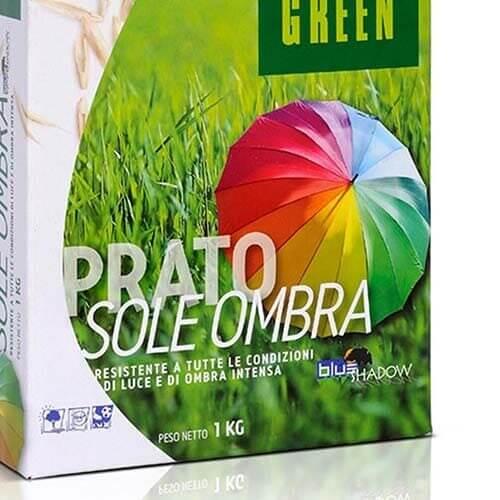 Prato Sole Ombra by Tempoverde è una miscela da tappeti erbosi caratterizzata da un'elevatissima resistenza alle zone d'ombra