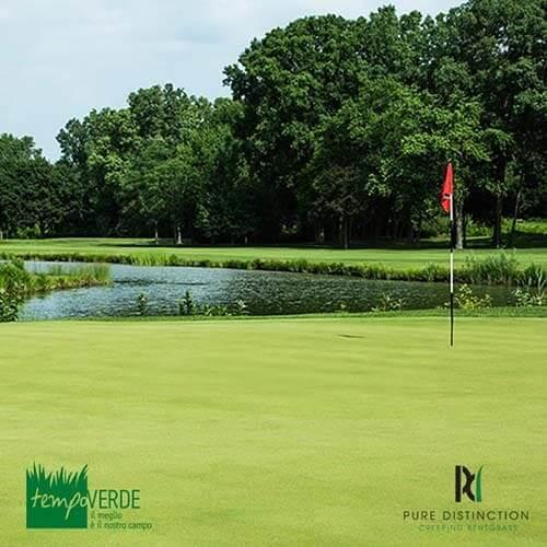 Pure Distinction ha stabilito un nuovo standard per la qualità delle superfici a Putting Green.