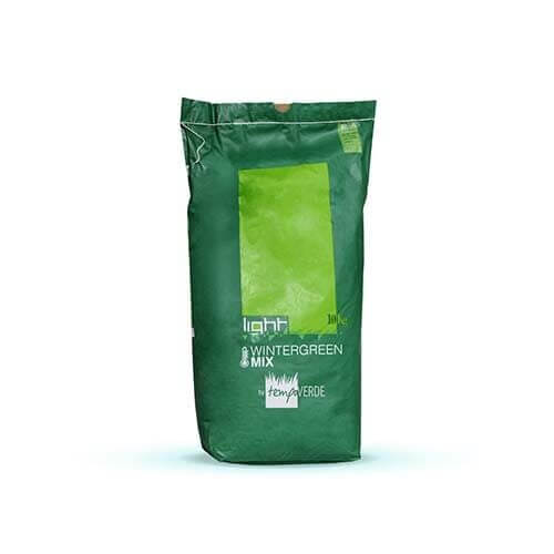 Light Wintergreen Mix è una miscela di loiettiper tappeti erbosi specifica pertrasemine invernali.