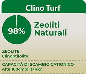 Tempoverde Clino Turf è un ottimo ammendante del suolo a base di Zeolite-Clinoptilolite.