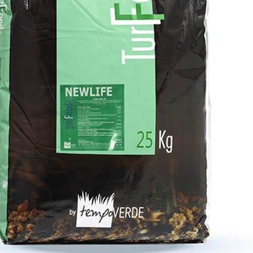Applicazioni di Newlife sono consigliate nei momenti d'insediamento dei tappeti erbosi, sia per operazioni di semina che di trasemina.
