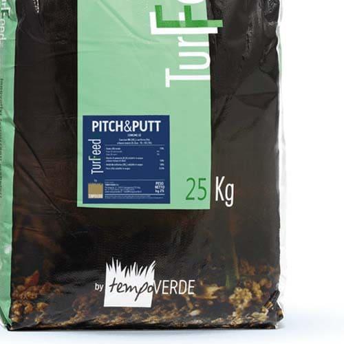 TurFeed Pro Pitch&Putt 15-0-10: Microgranulo per la fertilizzazione di prati ad alto pregio ad uso sportivo e/o ornamentale e ricreativo.