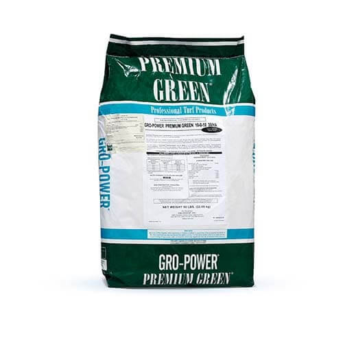 GroPower Premium Green 10-0-10 è un fertilizzante a lenta cessione specifico per tappeti erbosi
