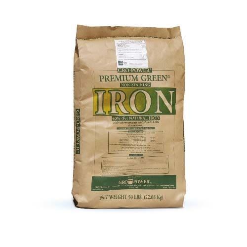 GroPower Premium Green Iron è un prodotto ad altissima concentrazione in Ferro (40%)