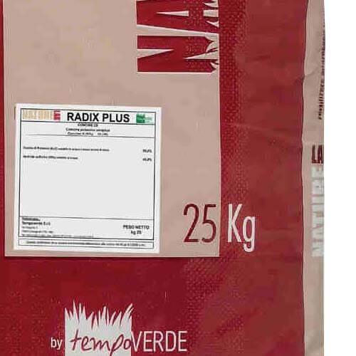 L'utilizzo di Nature Lab Radix Plus 0-0-50 è particolarmente indicato per le concimazioni aventi funzioni anti-stress e di miglioramento della funzionalità dell'apparato radicale.