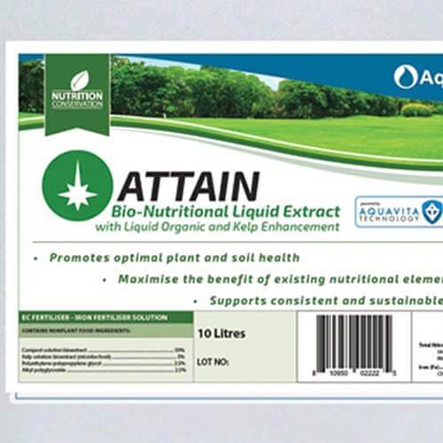 Aquatrols Attain è appositamente studiato per la manutenzione professionale del tappeto erboso