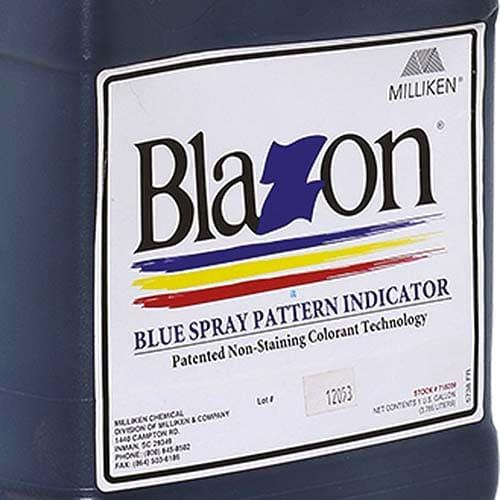 Blazon colorante tracciante indicatore è anche un colorante per laghi contro la torbidezza delle acque. Aumentando la dose, la soluzione v...