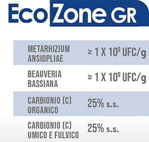 EcoZone GR è un prodotto in formulazione granulare che trova applicazione sugli apparati radicali di piante stressate