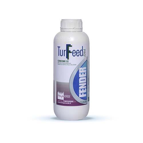 TurFeed Pro Fender è una miscela fluida di microelementi Ferro (Fe) EDTA e Rame (Cu) EDTA