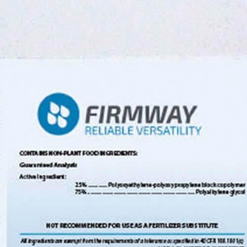 Aquatrols Firmway: il nuovo surfattante di Aquatrols che migliora la distribuzione e l'infiltrazione dell'acqua.