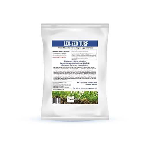 Tempoverde Leo-Zeo Turf apporta benefici sia al terreno che al tappeto erboso.