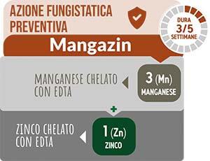 TurFeed Pro Mangazin è un prodotto studiato per andare a sopperire le carenze di Zinco e Manganese
