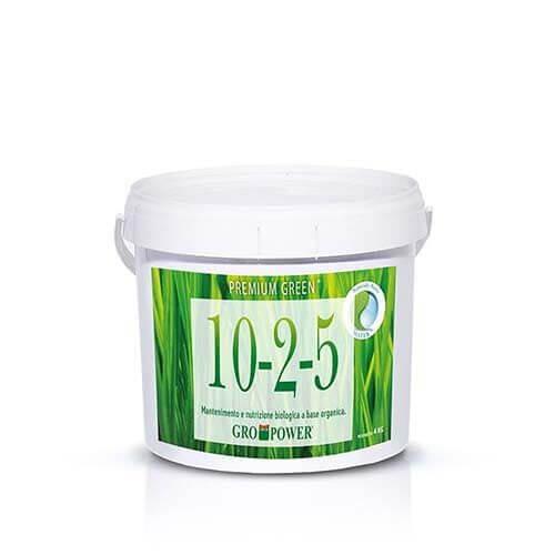 Premium Green 10-2-5 è un fertilizzante specifico per tappeti erbosi