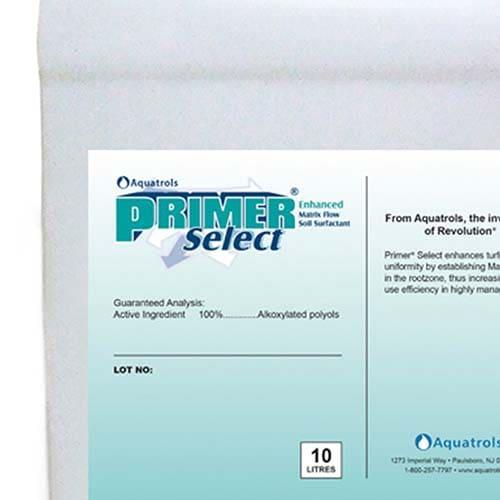 Aquatrols Primer Select è un tensioattivo liquido