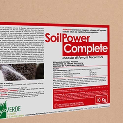 Soil Power Complete favorisce un incremento dell'apparato radicale